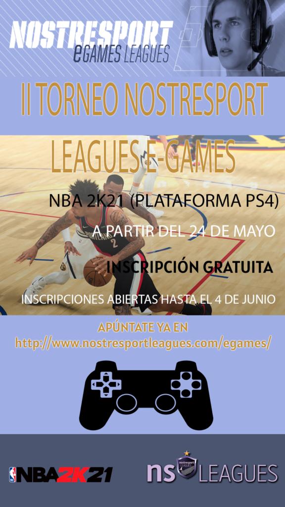 Cartel I Torneo NBA 2K21